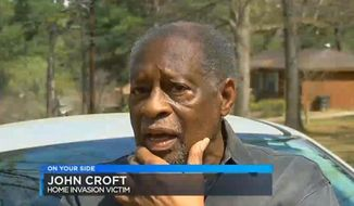 Alabama homeowner John Croft, 79, shot and killed a burglar on March 29, 2017. His residence has been broken into 13 times since June 2016. (Fox-6 Alabama screenshot)