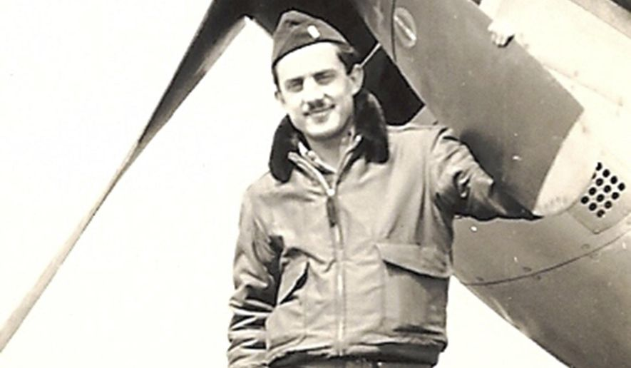 ADVANCE FOR USE SUNDAY, APRIL 2 - This undated image courtesy of Perry Nuhn, shows, Capt. Albert Schlegel, who was killed in 1944 while serving as a pilot in the U.S. Army Air Force. Schlegel's remains were recently identified in France and his remains were brought back to the U.S. to be reinterred in Beaufort. (courtesy Perry Nuhn/The Island Packet via AP)