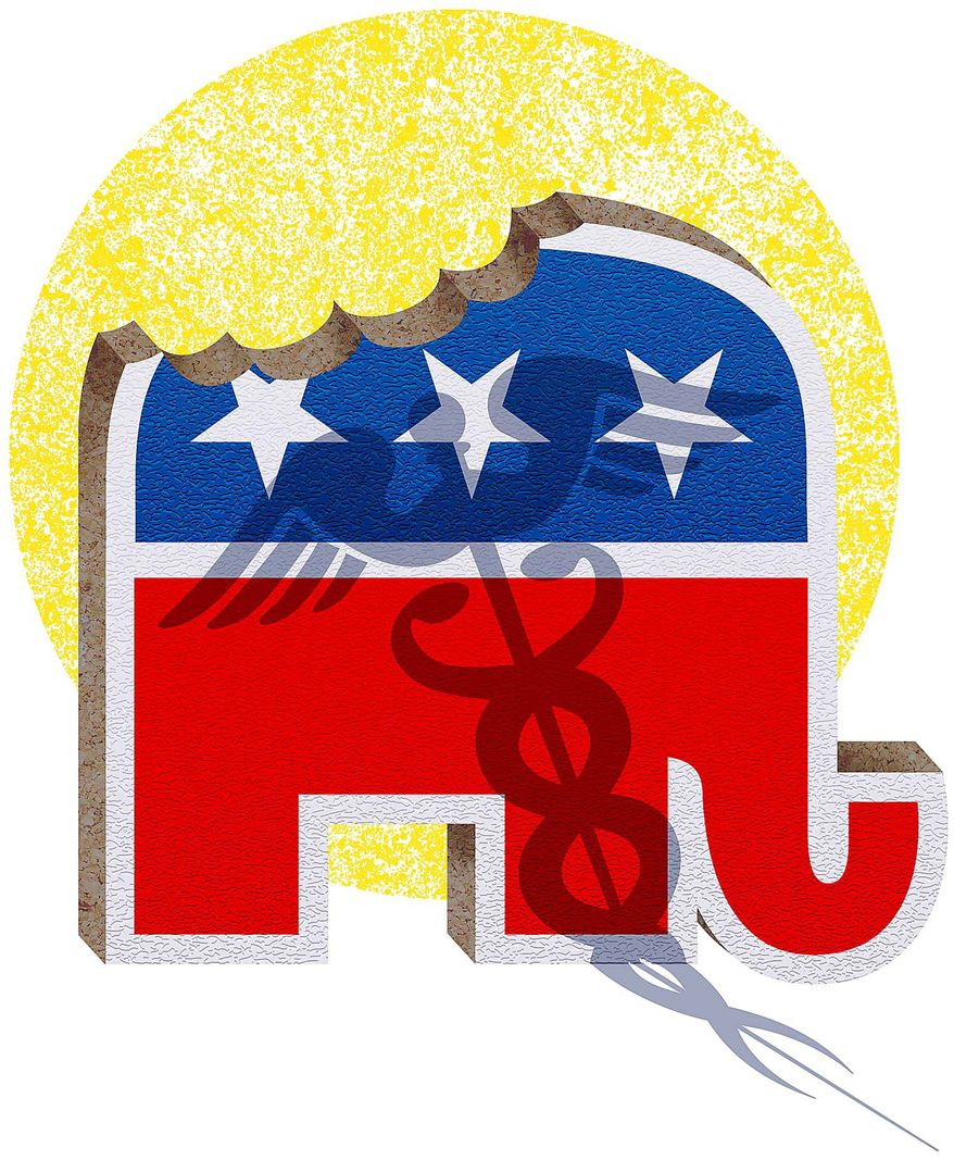 Cannibalization in the GOP Illustration by Greg Groesch/The Washington Times