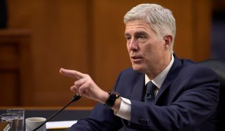 A C-SPAN poll finds 26 percent of Americans don't have an opinion on Supreme Court justice nominee Neil Gorsuch's qualifications and 43 percent support his confirmation. (Associated Press)