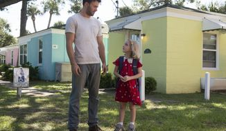 "In this image released by Fox Searchlight Pictures, Chris Evans, left, and McKenna Grace appear in a scene from, ""Gifted."" (Wilson Webb/Fox Searchlight Pictures via AP)"