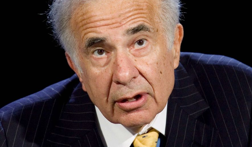 """Investor Carl Icahn says the company's board has done an """"awful job"""" in trying to recover from the mortgage meltdown. (Associated Press)"""
