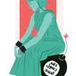 Illustration on preserving liberty in a terrorist world by Linas Garsys/The Washington Times