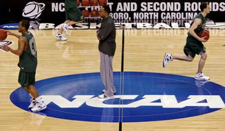 "The NCAA says it will consider North Carolina as a host for championship games after the state rolled back the so-called ""bathroom bill,"" a law that limited protections for LGBT people. (Associated Press)"