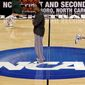 """The NCAA says it will consider North Carolina as a host for championship games after the state rolled back the so-called """"bathroom bill,"""" a law that limited protections for LGBT people. (Associated Press)"""