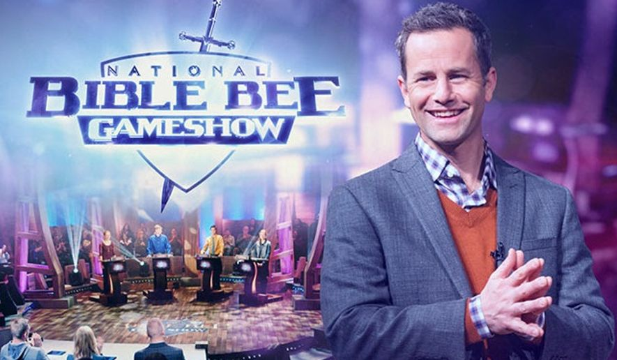 The National Bible Bee Gameshow, hosted by Kirk Cameron, premieres April 4 on Facebook Live.