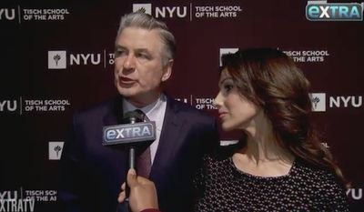 Alec Baldwin told Extra at New York University's annual Tisch School of the Arts Gala that he thinks the future is bleak for Democrats looking to run against President Trump in 2020.