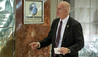 Keith Schiller, a former New York City detective, accompanied Donald Trump to Moscow in 2013 as his bodyguard. (Associated Press/File)