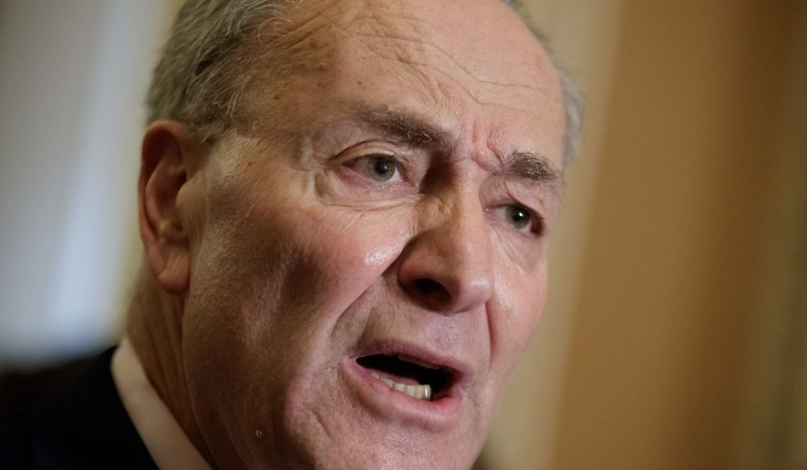 Senate Minority Leader Charles E. Schumer