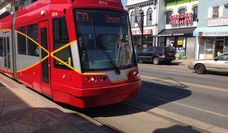 D.C. Streetcar 2016.03.09   (Ryan M. McDermott/The Washington Times)