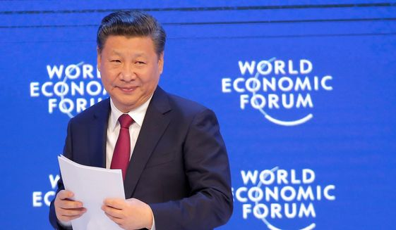 As President Trump prepares to host his Chinese counterpart, Xi Jinping, a reversal has emerged: The U.S. leader is seen as a wild card, skeptical of trade deals. (Associated Press)
