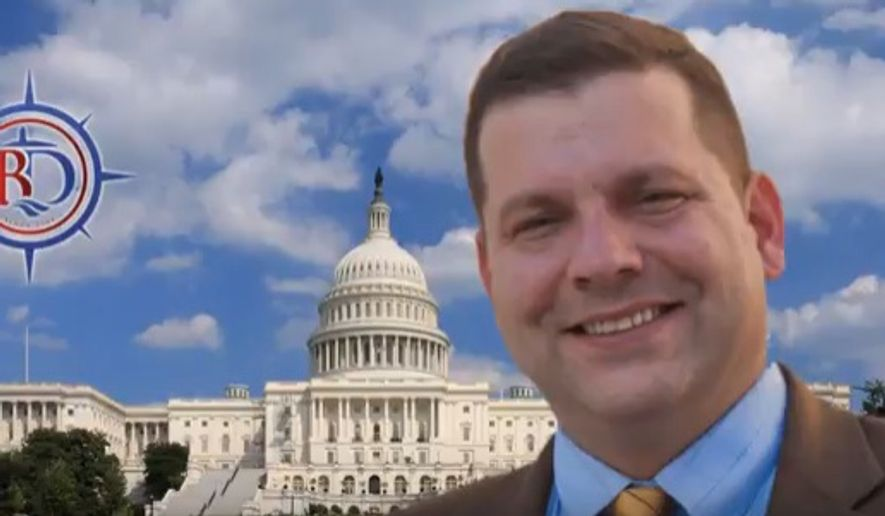 Rep. Tom Garrett, Virginia Republican. (Image: Screen grab of John Fredericks Show Twitter)