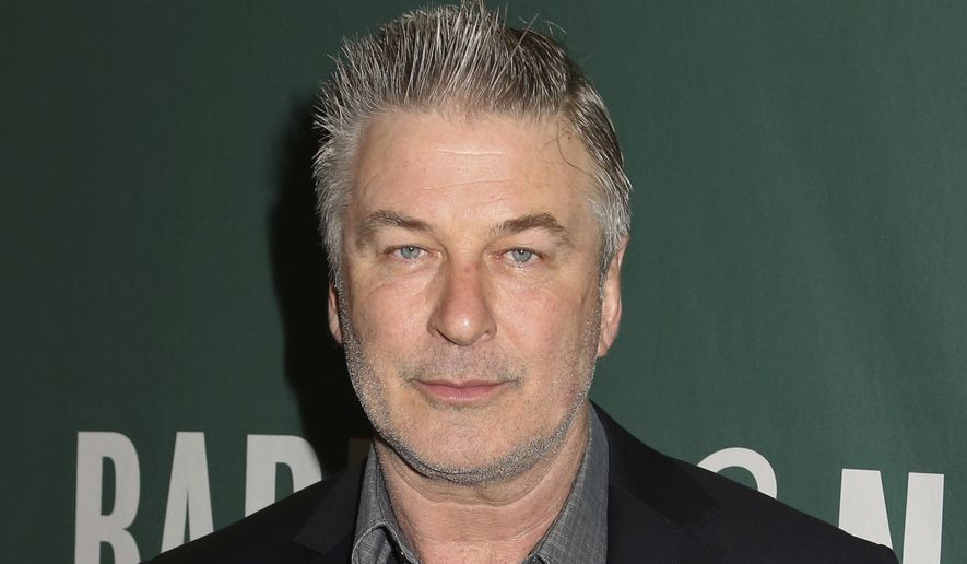 "Actor and author Alec Baldwin appears at Barnes & Noble Union Square to sign copies of his new book, ""Nevertheless: A Memoir"", on Tuesday, April 4, 2017, in New York. (Photo by Greg Allen/Invision/AP) ** FILE **"