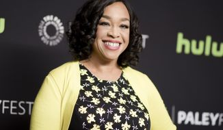 "FILE - In this March 15, 2016 file photo, Shonda Rhimes attends the 33rd Annual Paleyfest: ""Scandal"" event in Los Angeles. Rhimes told Elle magazine for a story published online on April 6, 2017, that she is joining the national board of Planned Parenthood. (Photo by Richard Shotwell/Invision/AP, File)"