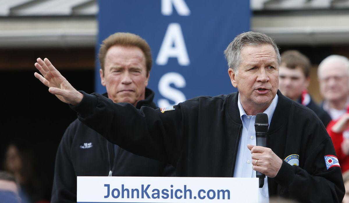 World War Zero: Kasich, Kerry, Schwarzenegger join forces to fight climate change