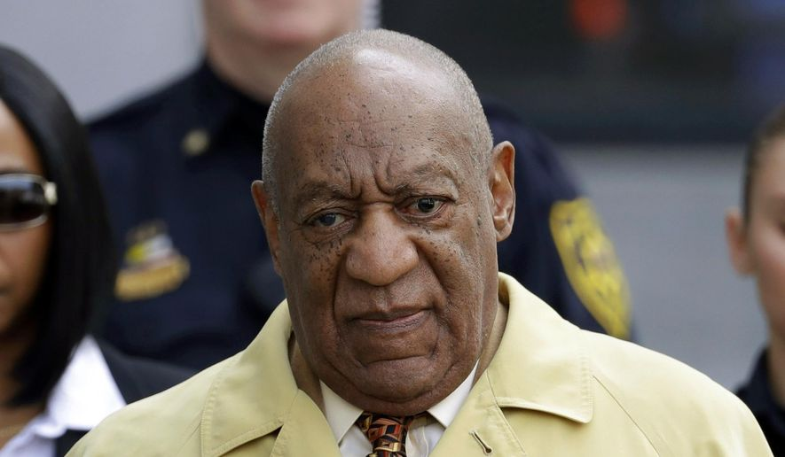 Bill Cosby departs after a pretrial hearing in his sexual assault case at the Montgomery County Courthouse in Norristown, Pa., in this Feb. 27, 2017, file photo. (AP Photo/Matt Slocum, File)