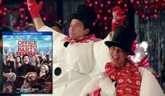 "Jason Bateman and Olivia Munn co-star in ""Office Christmas Party: Unrated,"" now available on Blu-ray from Paramount Home Entertainment."