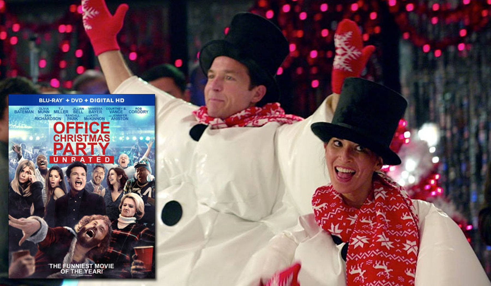 Blu-ray review: \'Office Christmas Party: Unrated\' - Washington Times