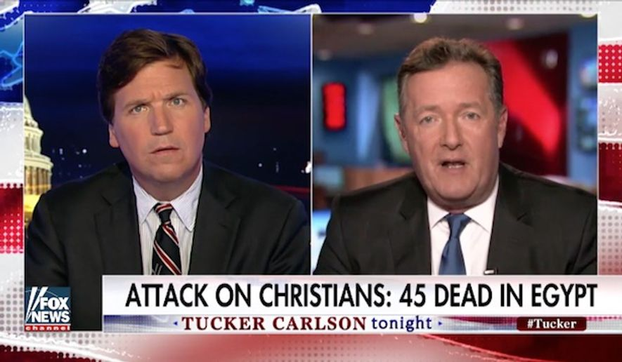 Daily Mail editor-at-large Piers Morgan on Monday criticized the American media for paying more attention to isolated terrorist attacks in Europe while ignoring the Islamic State's ongoing war on Christianity in the Middle East. (Fox News)