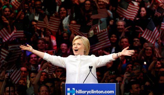 A new book ready to hit store shelves takes the reader inside Hillary Clinton's ultimately doomed bid for the presidency. (Associated Press)