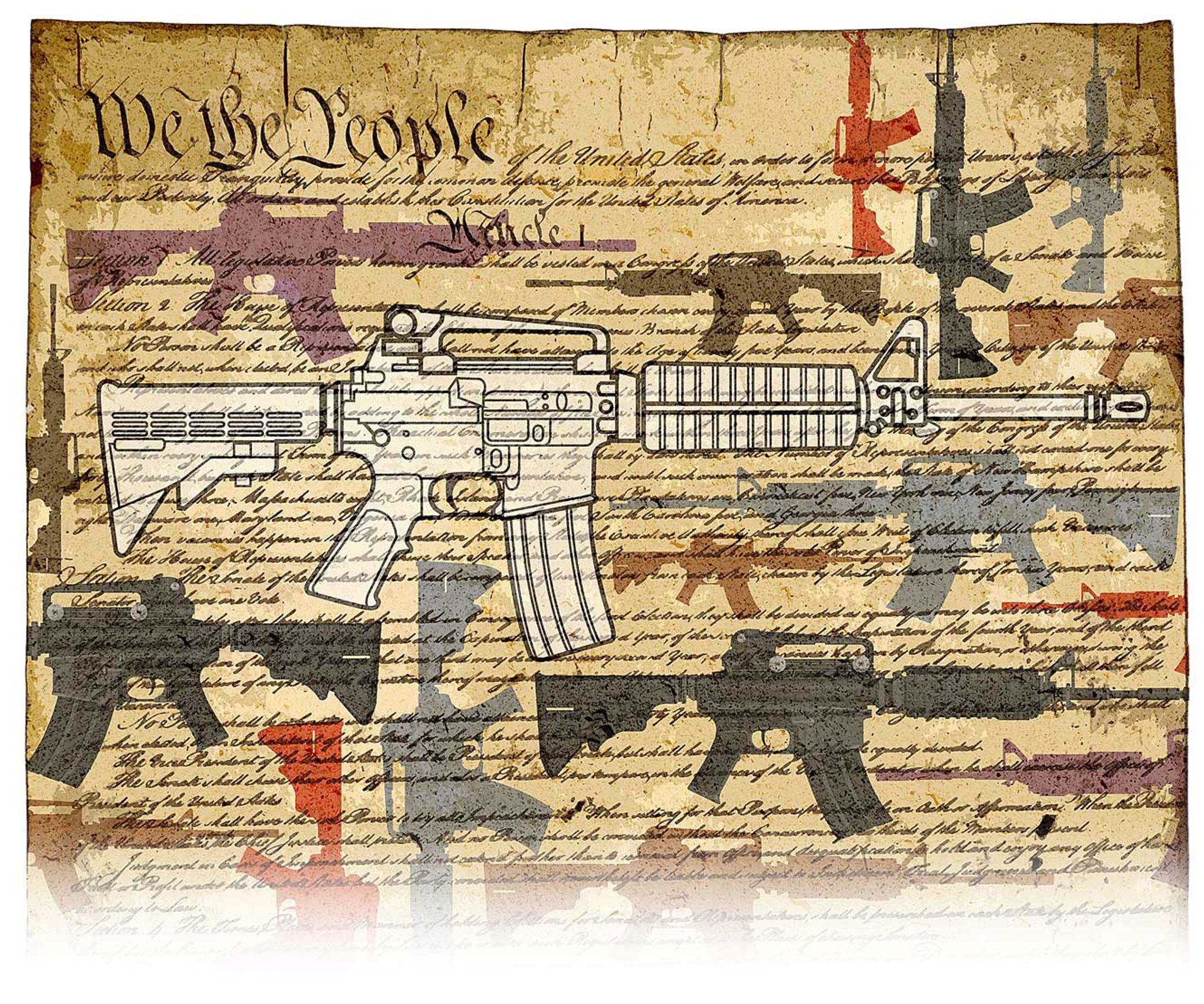 Why the Second Amendment protects the AR-15