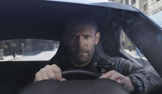 "Jason Statham stars in ""The Fate of the Furious."" (Universal Pictures via AP) ** FILE **"