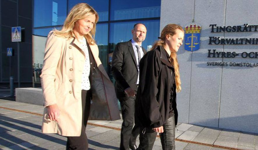 A Swedish appeals court ruled Wednesday against Ellinor Grimmark (right), a Christian midwife who was forced by the government to choose between performing abortions and her job. (humanrightslawyers.eu)