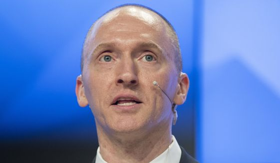 """The mistakes are so laughable and humorous they're beyond words,"" Carter Page says of the dossier making the rounds around Washington. (Associated Press/File)"