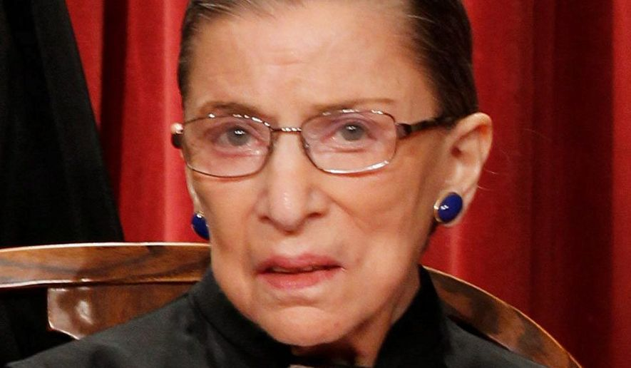 Ruth Bader Ginsberg (Associated Press) ** FILE **