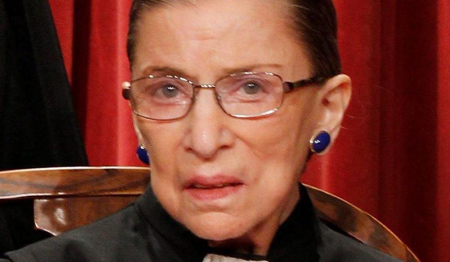 Ruth Bader Ginsberg (Associated Press) ** FILE **