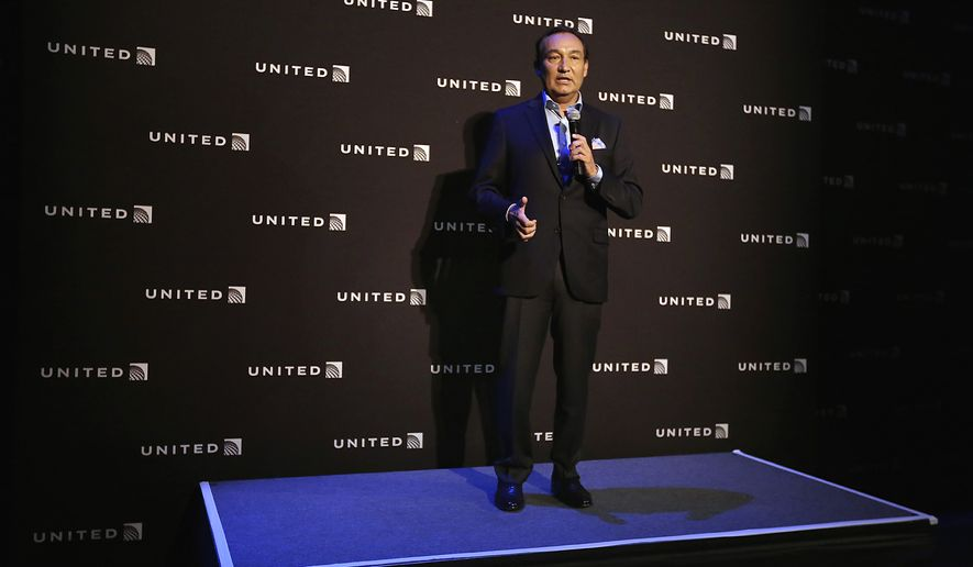 FILE - In this Thursday, June 2, 2016, file photo, United Airlines CEO Oscar Munoz speaks in New York, during a presentation of the carrier's new Polaris service. The United fiasco where a passenger was dragged off a United Express flight on Sunday, April 9, 2017, is just the latest example of bad behavior by a company or its employees called out by witnesses with a smartphone. Munoz eventually apologized, but not for two days and after first blaming the customer and airport security. Three days after the incident United offered full refunds to all passengers on the flight. As smartphone cameras and social media have shifted power to consumers, they are forcing companies to be more nimble in handling matters they might have tried to sweep under the rug before. (AP Photo/Richard Drew, File)