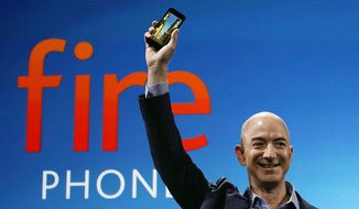 Jeff Bezos, best known as the founder, chairman, and chief executive officer of Amazon.com, which is the world's largest online shopping retailer, is shown in this file photo. (Associated Press) **FILE**