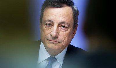 11. Mario Draghi, 69, an Italian economist who has served as President of the European Central Bank since November 2011. He has served as Chairman of the Financial Stability Board from 2009 to 2011 and Governor of the Bank of Italy from 2005 to 2011. Draghi previously worked at Goldman Sachs from 2002 until 2005 before becoming the governor of the Bank of Italy in December 2005, where he served until October 2011. In 2014 Draghi was listed as the 8th most powerful person in the world by Forbes. In 2015 Fortune magazine ranked him as the world's second greatest leader. (AP Photo/Michael Probst)