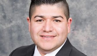 Democratic state Rep. Jesus Rubalcava apologized on the Arizona House floor Thursday for writing on Facebook that he wanted to physically attack a female Republican colleague. (Facebook/@Jesus Rubalcava)