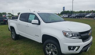 For a truck, this Chevrolet is top notch in the midsize trunk segment. The 2017 Chevrolet Colorado is the kind of truck that is easy to drive and has a low-key chill vibe. In short, you get where you are going with no fuss. (Photo courtesy of Ross Hamilton, Apple Chevrolet, Texas)