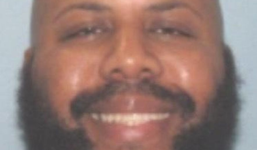 This undated photo provided by the Cleveland Police shows Steve Stephens. (Cleveland Police via AP)