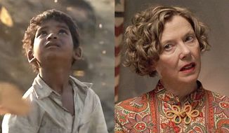 "Sunny Pawar in ""Lion"" and Annette Bening in ""20th Century Women,"" now available on Blu-ray."