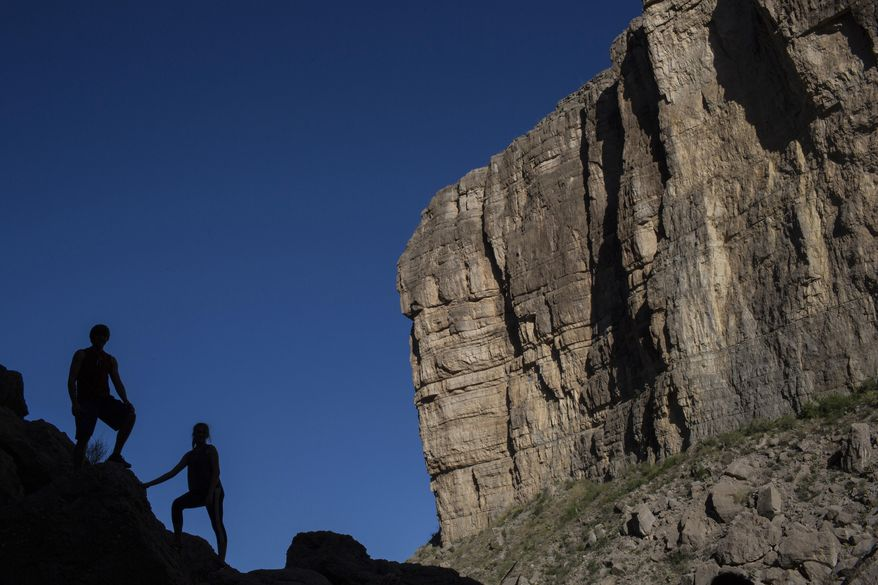 The vast Grand Canyon has no room for research on biblical beliefs, according to a lawsuit filed by a Christian geologist. (Associated Press/File)