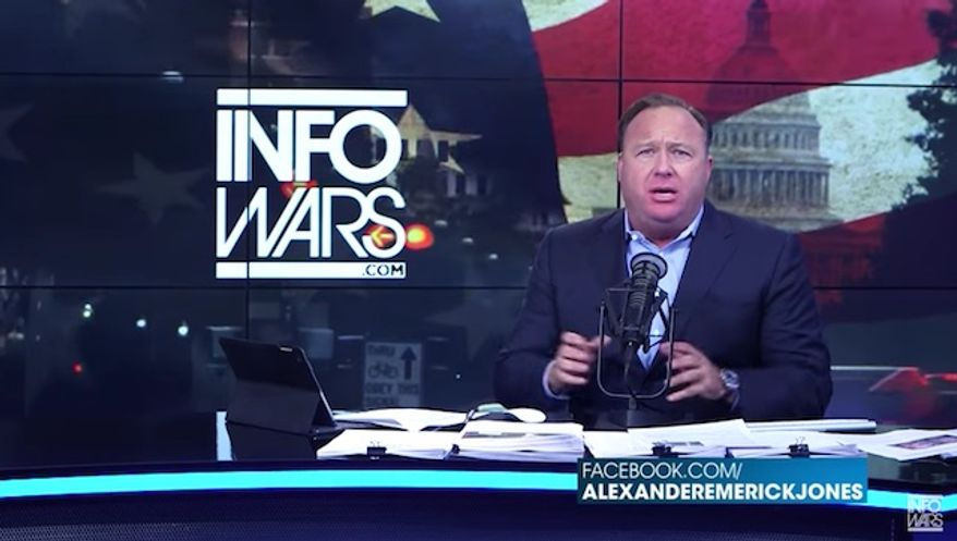 (YouTube/@The Alex Jones Channel)