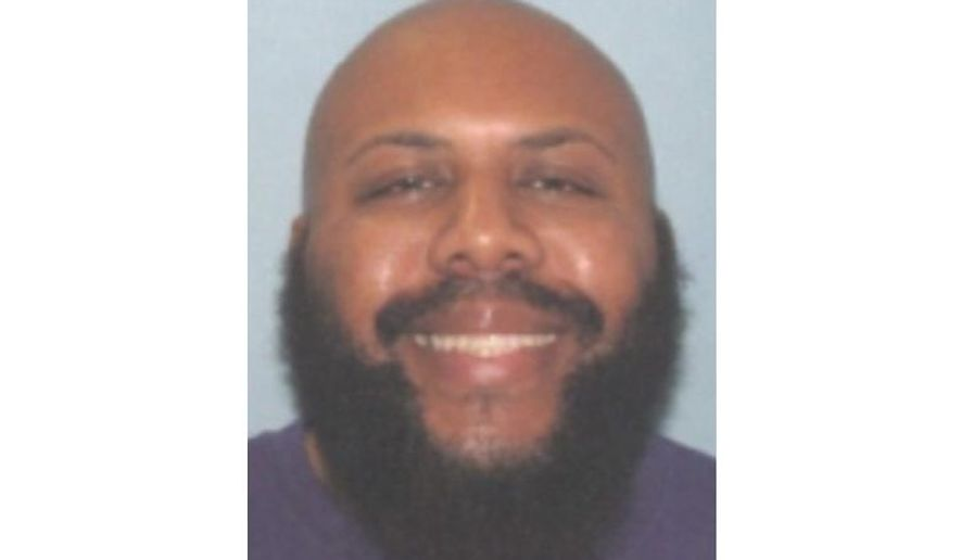 CORRECTS TO CLARIFY THE VIDEO WAS NOT BROADCAST ON FACEBOOK LIVE AS POLICE INITIALLY INDICATED, BUT POSTED AFTER THE KILLING - This undated photo provided by the Cleveland Police shows Steve Stephens. Cleveland police said they are searching for Stephens, a homicide suspect, who recorded himself shooting another man and then posed the video on Facebook on Sunday, April 16, 2017. (Cleveland Police via AP)