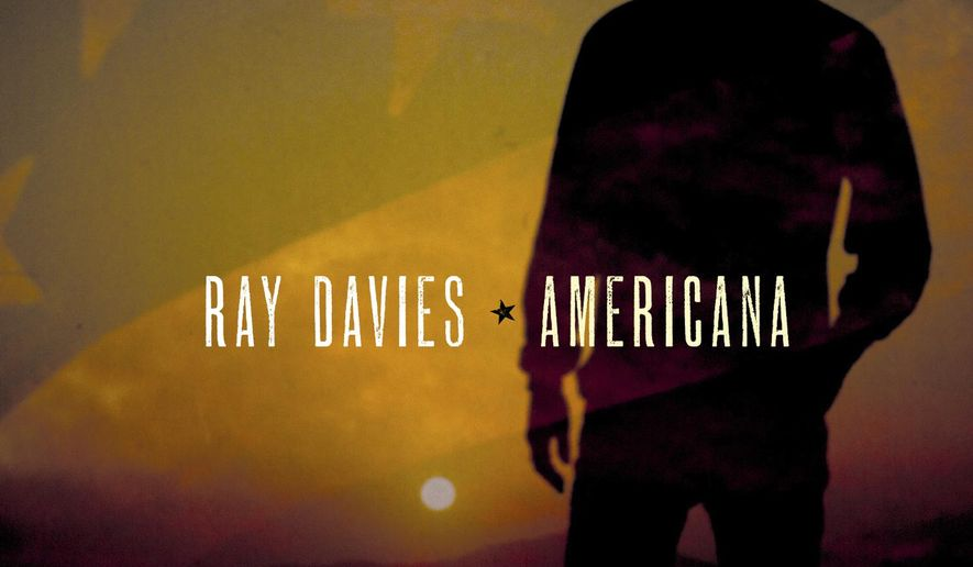 "This cover image released by Legacy Recordings shows ""Americana,"" a release by Ray Davies. (Legacy via AP)"
