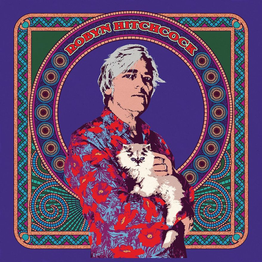 This cover image released by Yep Roc Records shows a self-titled album by Robyn Hitchcock. (Yep Roc Records via AP)