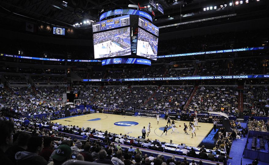 Pittsburgh plays UNC Asheville in the second half of the Southeast regional second round NCAA tournament college basketball game, Thursday, March 17, 2011, at the Verizon Center in Washington. (AP Photo/Nick Wass) **FILE**