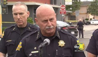Fresno Police Chief Jerry Dyer said it's too early to determine whether terrorism played a factor in Tuesday's shooting spree. (ABC30)