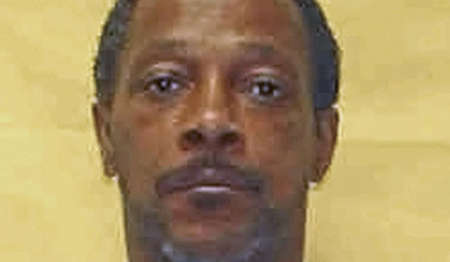 This undated photo provided by the Ohio Department of Rehabilitation and Correction shows Evin King, who has spent 23 years in an Ohio prison for the 1994 strangulation of his girlfriend Crystal Hudson. King, who has maintained his innocence, could be released soon after Cuyahoga County, Ohio, Prosecutor Michael O'Malley's office in Cleveland asked a court Monday, April 17, 2017, to vacate King's conviction, based on advances in DNA testing and interpreting forensic evidence. (Ohio Department of Rehabilitation and Correction via AP)