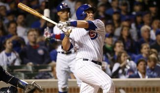 Miguel Montero gets a fresh start with the Nationals. (AP File Photo/Charles Rex Arbogast)