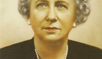 Studio portrait of Bess Truman
