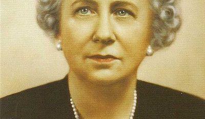 Studio portrait of Bess Truman