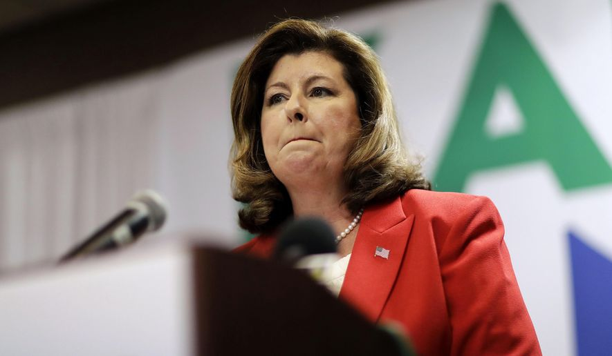 Karen Handel is the Republican candidate running for Georgia's 6th Congressional District seat. (Associated Press)