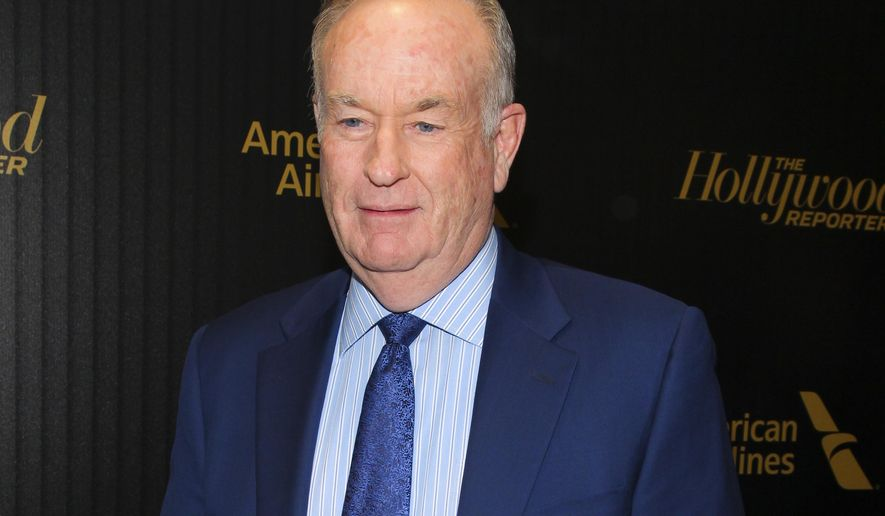 "FILE - In this April 6, 2016 file photo, Bill O'Reilly attends The Hollywood Reporter's ""35 Most Powerful People in Media"" celebration in New York.  O'Reilly has lost his job at Fox News Channel following reports that five women had been paid millions of dollars to keep quiet about harassment allegations. 21st Century Fox issued a statement Wednesday, April 19, 2017, that ""after a thorough and careful review of the allegations, the company and Bill O'Reilly have agreed that Bill O'Reilly will not be returning to the Fox News Channel.  (Photo by Andy Kropa/Invision/AP, File)"